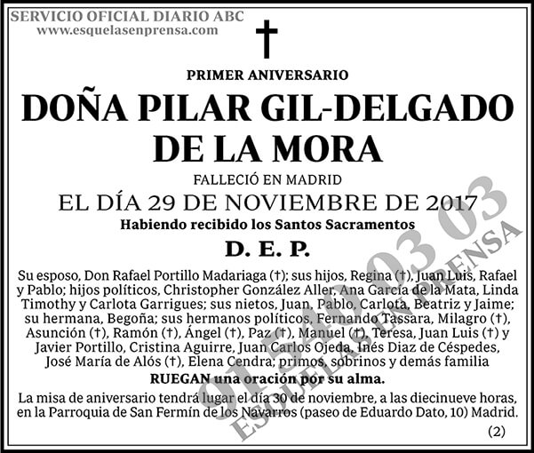Pilar Gil-Delgado de la Mora
